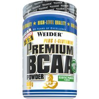 Weider Premium BCAA Powder Pulver Exotic Punch 500g