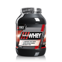 FREY Nutrition Triple Whey - 750g - Schoko