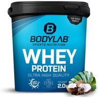 Bodylab24 Whey Protein - 2000g - Schokolade-Kokosnuss
