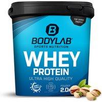 Bodylab24 Whey Protein - 2000g - Pistazie