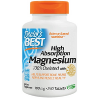 Doctor's Best High Absorption Magnesium (240 Tabletten)