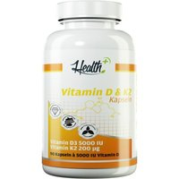 Zec Plus Nutrition Health+ Vitamin D & K2 (90 Kapseln)
