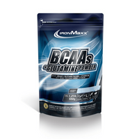 IronMaxx BCAAs + Glutamine Powder - 550g - Cola Limette