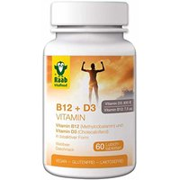 Raab Vitalfood Vitamin B12 + D3 (60 Tabletten)