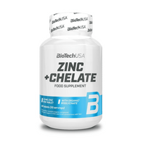 BioTech USA Zinc + Chelate (60 Tabletten)