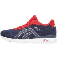 Asics Tiger Mens GT II Trainers Navy/Red