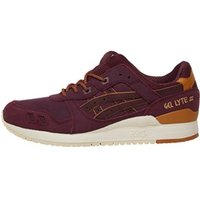 Asics Tiger Mens Gel Lyte III Winter Pack Trainers Rioja Red/Rioja Red