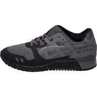 Asics Tiger Gel Lyte III No Sew Trainers Black/Carbon