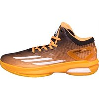 adidas Mens Crazylight Boost Basketball Shoes Bright Gold/White/Black
