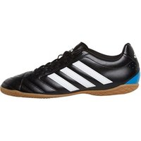adidas Mens Goletto V IN Indoor Trainers Core Black/White/Solar Blue