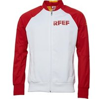 adidas Mens FEF Spain Poly Anthem Jacket White