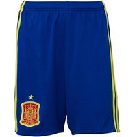 adidas Junior FEF Spain Home Shorts Collegiate Royal