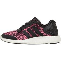 adidas Womens Pure Boost Lightweight Neutral Running Shoes Core Black/Core Black/Solar Pink