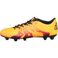 adidas Mens X 15.3 FG/AG Football Boots Solid Gold/Core Black/Shock Pink