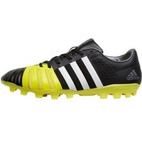adidas Mens FF80 Pro 2.0 AG Rugby Boots Core Black/White/Bright Yellow