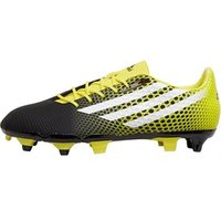 adidas Mens Crazyquick Malice SG Rugby Boots Core Black/White/Bright Yellow