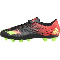 adidas Mens MESSI 15.4 FG Football Boots Core Black/Solar Green/Solar Red