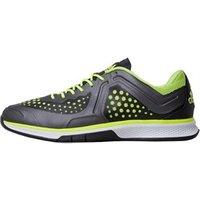 adidas Mens Adizero Counterblast 7 Lightweight Indoor Court Shoes Core Black/Solar Yellow/Night Metallic