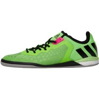 adidas Mens ACE 16.1 Boost Court IN Indoor Football Boots Solar Green/Core Black/Night Metallic