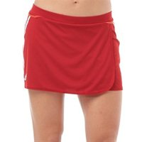 adidas Womens 3 Stripe ClimaCool Hockey Skort University Red