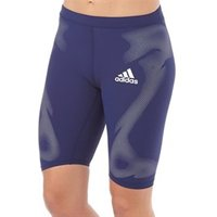 adidas Womens Adizero SprintWeb Running Tight Shorts Night Sky