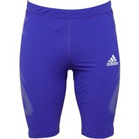 adidas Mens Adizero SprintWeb Running Tight Shorts Night Flash