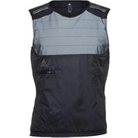 adidas Mens Adistar ClimaLite Reflective Viz Running Vest Black