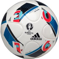 adidas Euro 2016 Beau Jeu Top Glider Match Ball Replica Football White/Bright Blue/Night Indigo