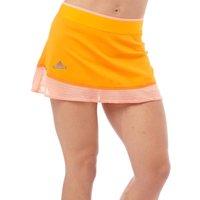 adidas Womens X Stella McCartney Barricade ClimaLite Tennis Skort Bright Gold/Semi Flash Orange