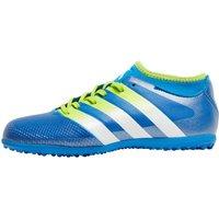 adidas Junior ACE 16.3 Primemesh TF Astro Football Boots Shock Blue/Semi Solar Slime/White