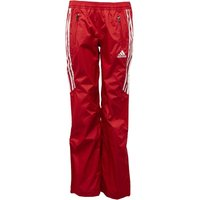 adidas Womens Full Length Rain Pants Collegiate Red