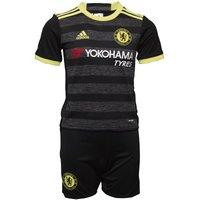 adidas Baby CFC Chelsea Away Kit Black/Solar Yellow/Granite