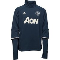 adidas-junior-mufc-manchester-united-3-stripe-long-sleeve-mock-neck-training-top-blue