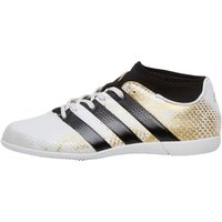 adidas Junior ACE 16.3 Primemesh IN Indoor Football Boots White/Core Black/Gold Metallic