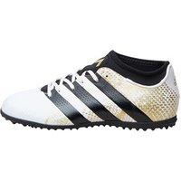 adidas Junior ACE 16.3 Primemesh TF Astro Football Boots White/Core Black/Gold Metallic