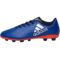 adidas Junior X 16.4 FxG Football Boots Collegiate Royal/Silver Metallic/Solar Red