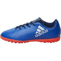 adidas Junior X 16.4 TF Astro Football Boots Collegiate Royal/Silver Metallic/Solar Red
