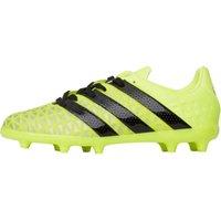 adidas Junior ACE 16.1 FG Football Boots Solar Yellow/Core Black/Silver Metallic