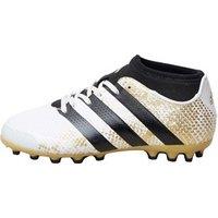 adidas Junior ACE 16.3 Primemesh AG Football Boots White/Core Black/Gold Metallic