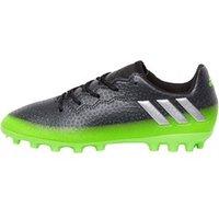 adidas Junior MESSI 16.3 AG Football Boots Dark Grey/Silver Metallic/Solar Green