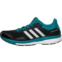 adidas-mens-supernova-glide-8-boost-neutral-running-shoes-core-blackwhiteequipment-green