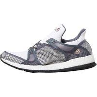 adidas Womens Pure Boost X TR Training Shoes White/Core Black/Onix