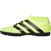 adidas Mens ACE 16.3 PrimeMesh Football Boots Solar Yellow/Core Black/Silver Metallic