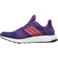 adidas Womens Ultra Boost ST Stability Running Shoes University Purple/Shock Purple/Clear Purple