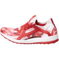 adidas Womens Pure Boost X Neutral Running Shoes Power Red/Power Red/Halo Pink