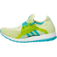 adidas Womens Pure Boost X Climachill Neutral Running Shoes Halo/Shock Green/Semi Solar Slime