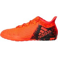adidas Mens X 16.1 CT IN Court Indoor Trainers Solar Red/Core Black/Hi Res Red