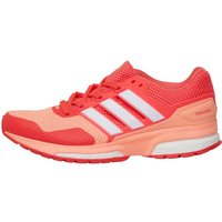 adidas Womens Response 2 Boost Neutral Running Shoes Sun Glow/White/Shock Red