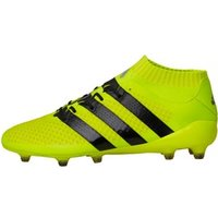 adidas Mens ACE 16.1 Primeknit FG Football Boots Solar Yellow/Core Black/Silver Metallic