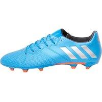 adidas Mens MESSI 16.3 FG Football Boots Shock Blue/Metallic Silver/Core Black
